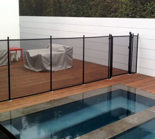 Attractive And Durable, Katchakidu0027s Transparent Removable Mesh Pool Fence  Adds A Vertical Layer Of Protection Around Your Pool. A Katchakid Fence  Provides ...