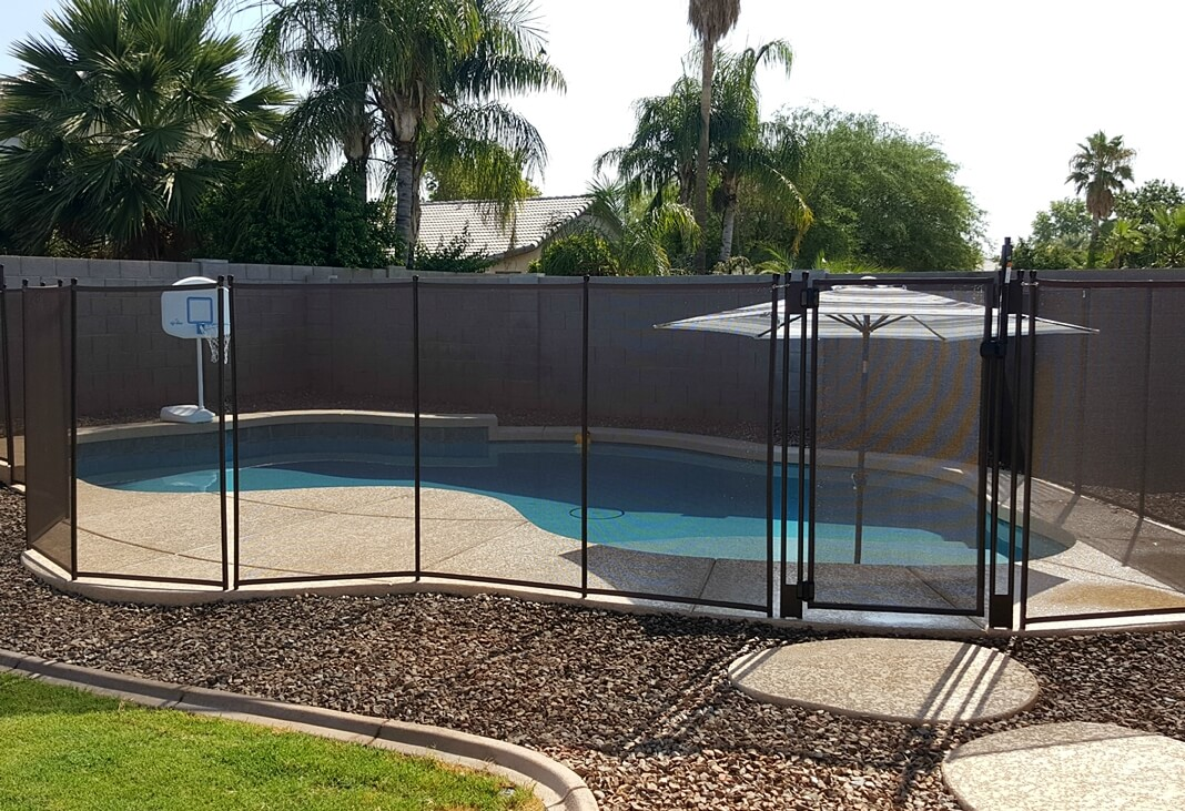 Safety Pool Fence Gallery | Safety Fences for Pools | Katchakid