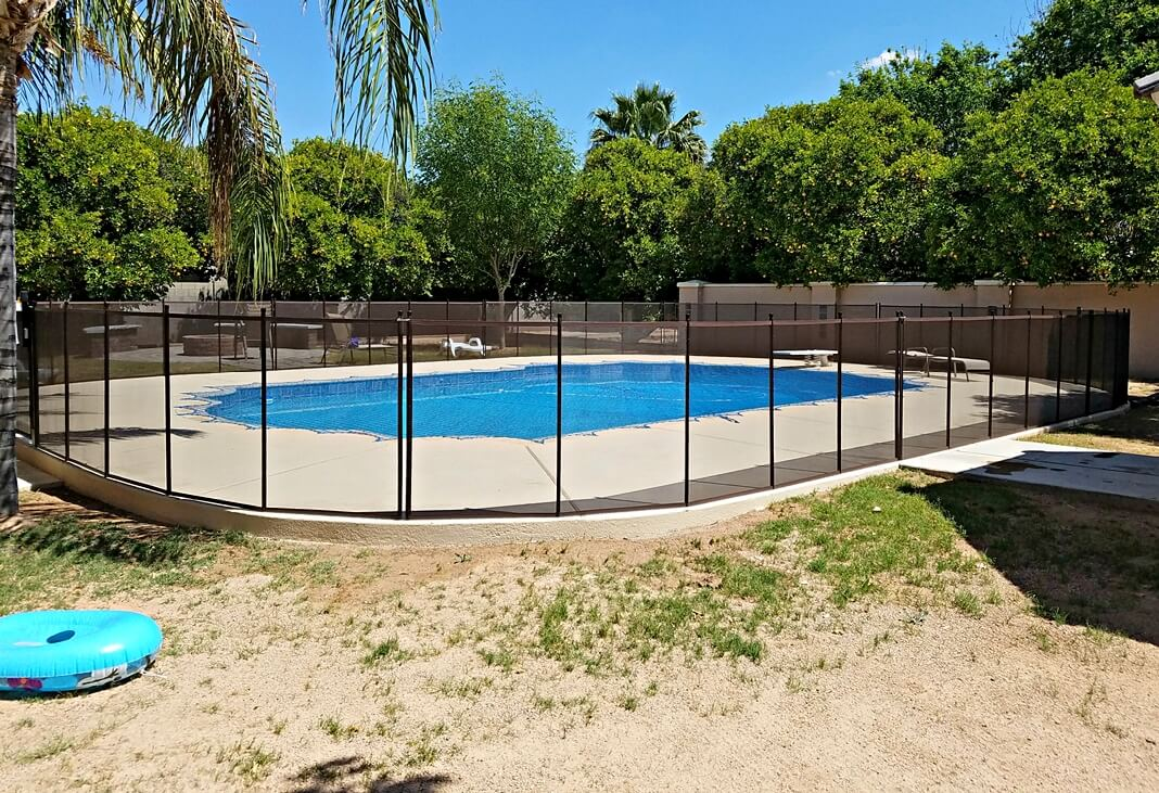 Pool Cover Fence