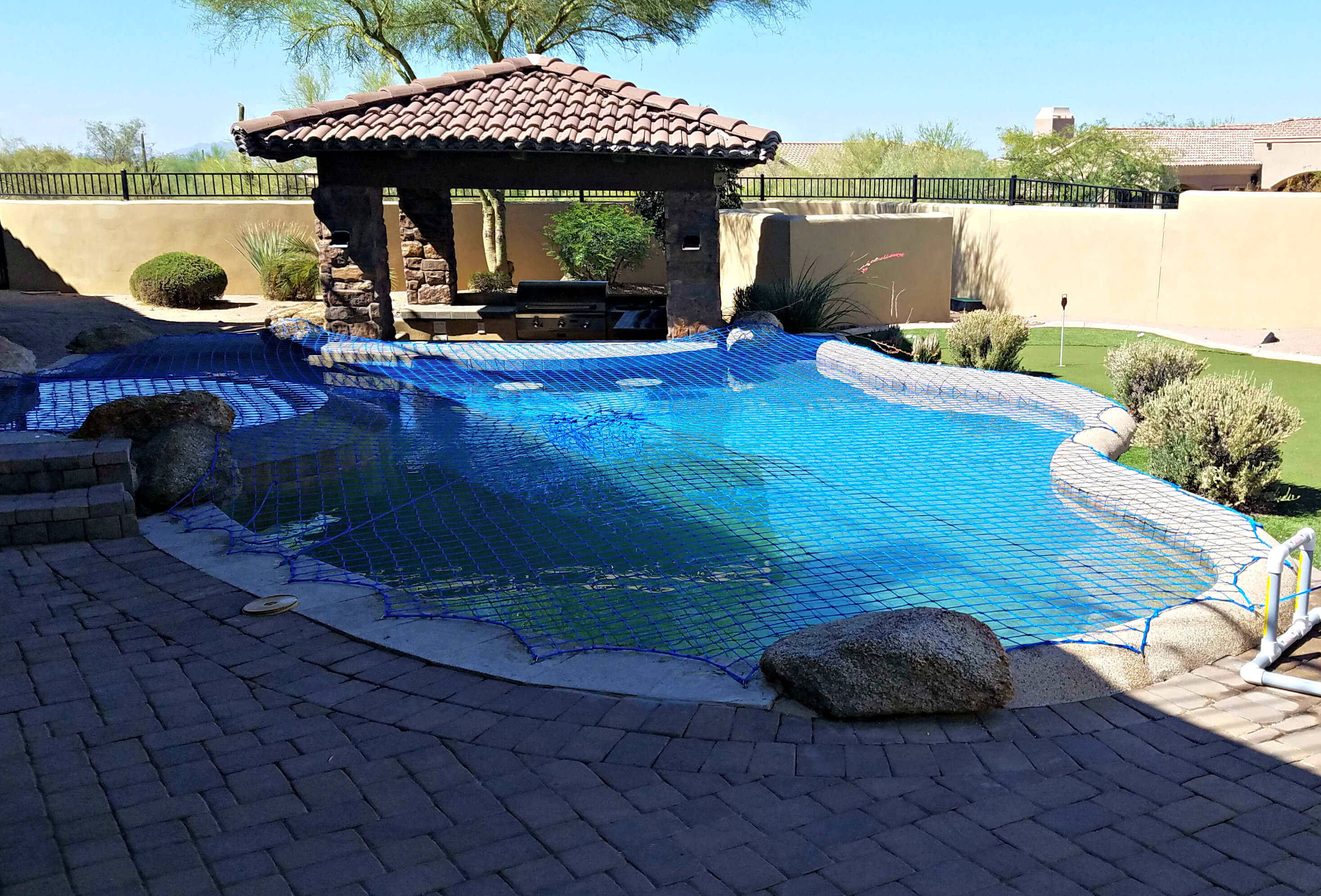Pool Net Cover | Katchakid Pool Safety Nets