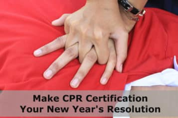 Make CPR Certification Your New Year's Resolution