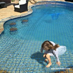 Inground Pool Safety Net – Will My Child Get Wet?