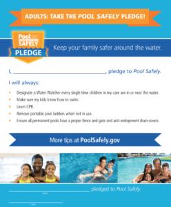 Pool Safely Pledge