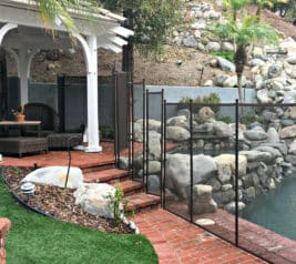 Poolfencing For Steps And Stairs