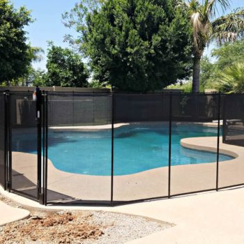 Always Classy – Install a Black Mesh Fence for Your Pool