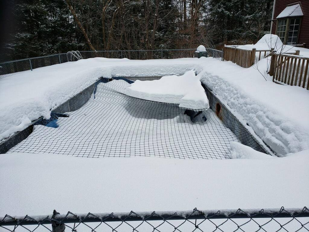 Winter Pool Cover: Year-Round Protection