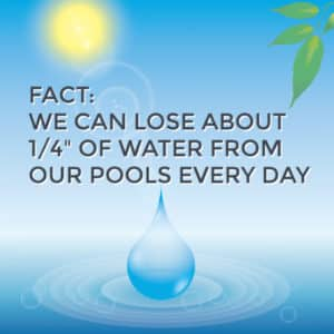 pool evaporation rate