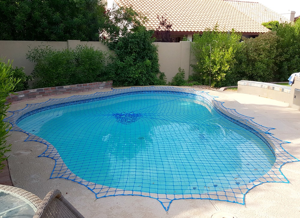 beautiful pool cover