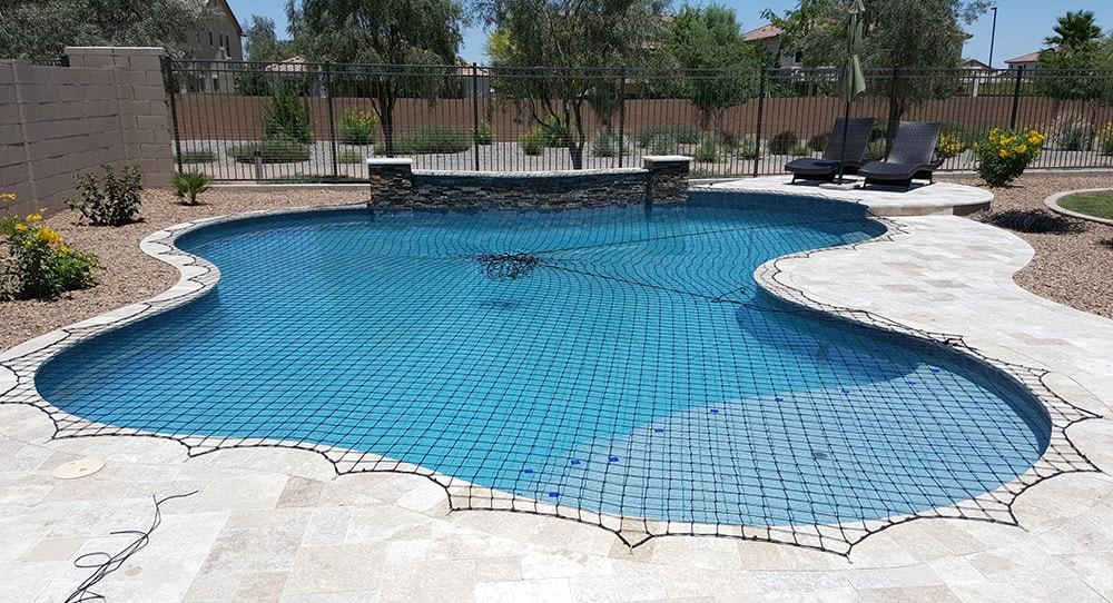 best pool safety net