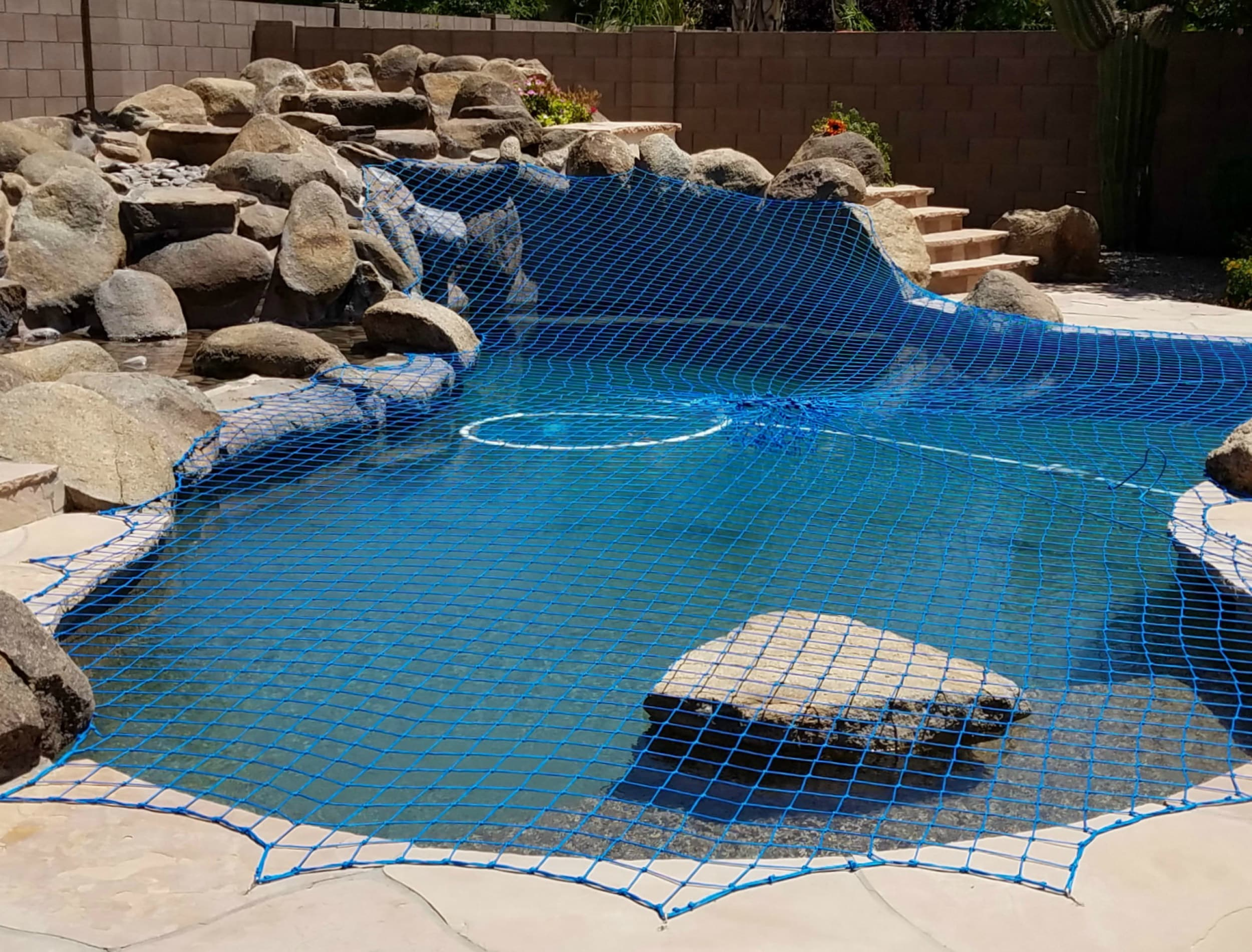 beautiful swimming pool safety net cover