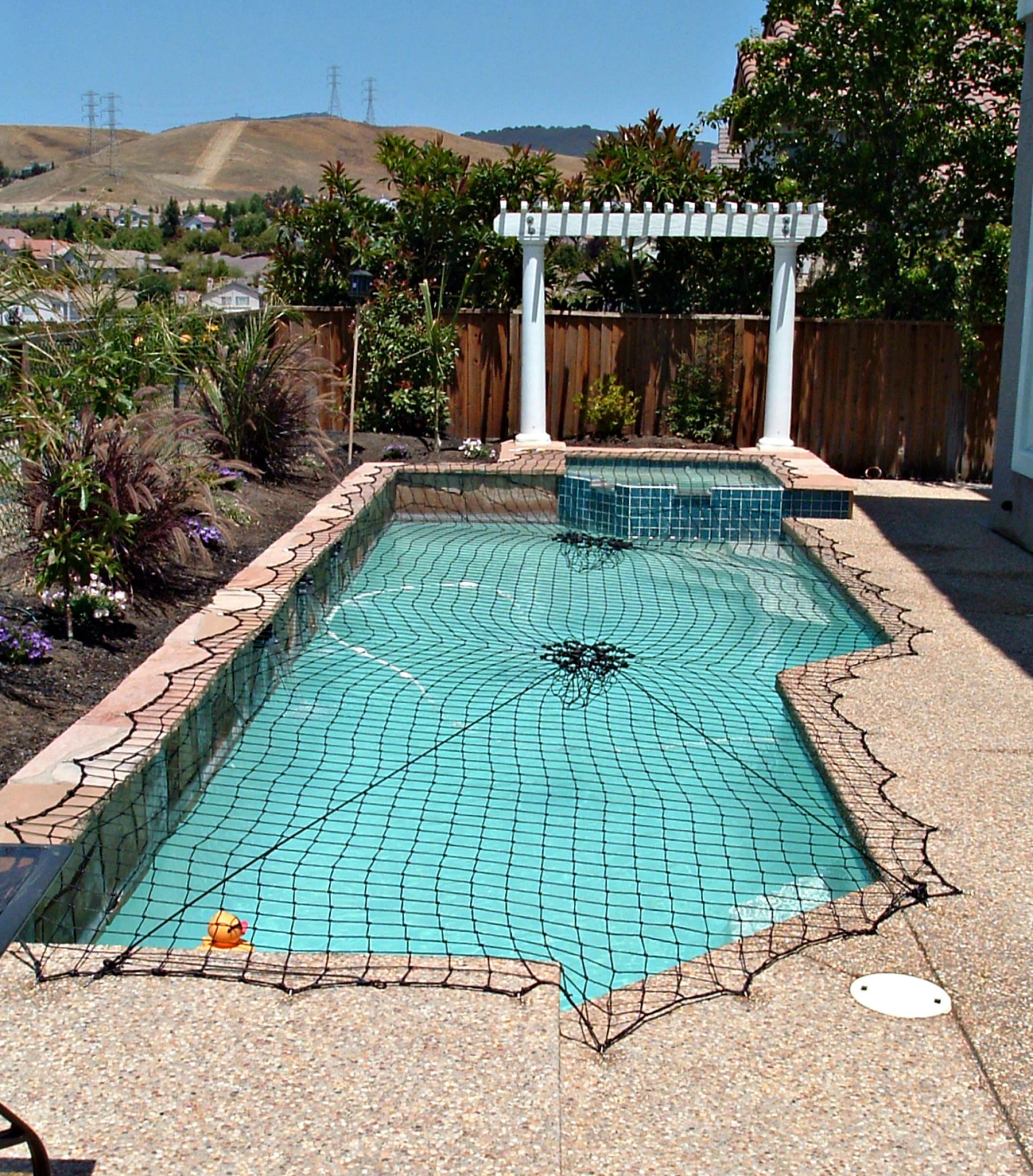 net pool cover