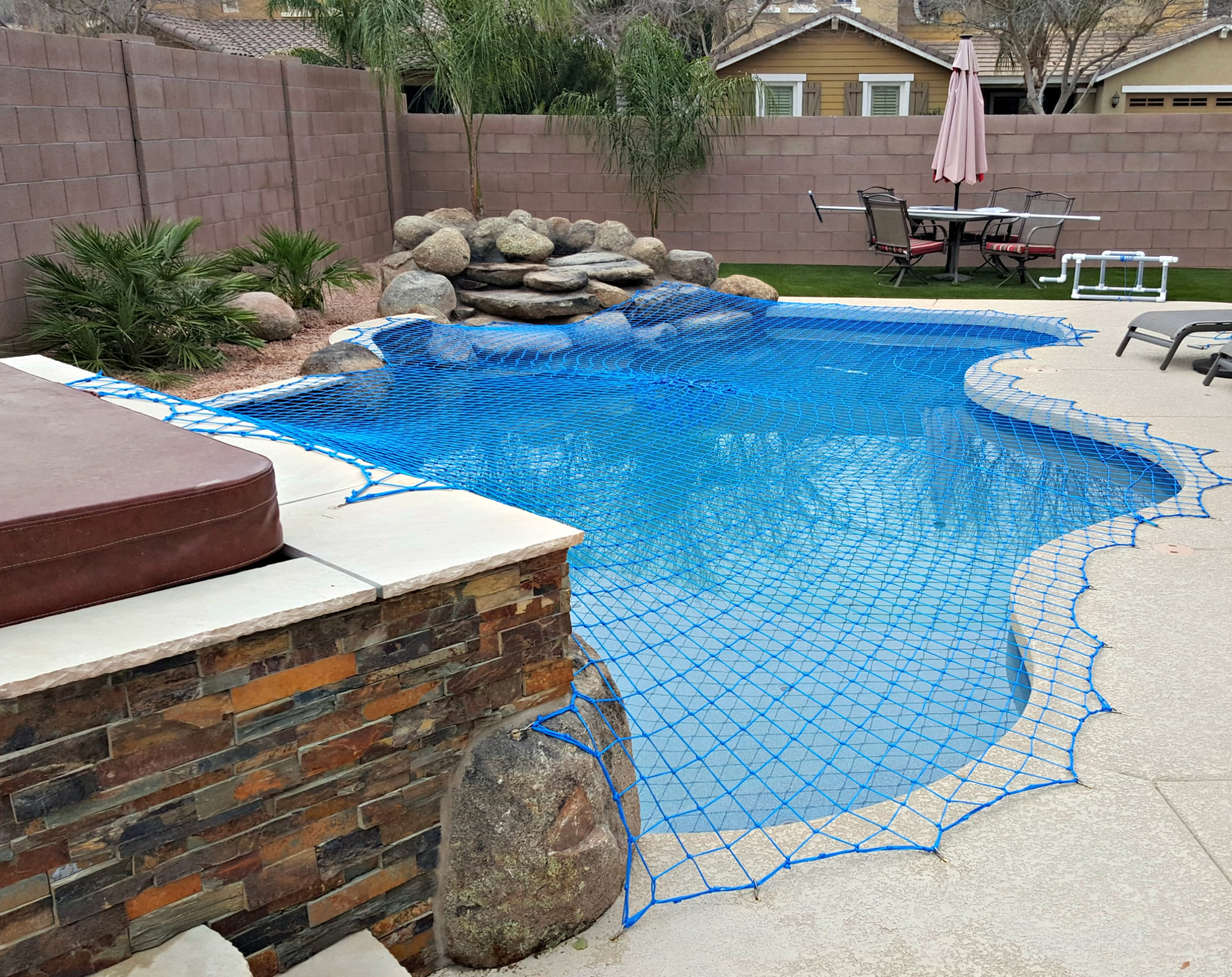 pool net cover